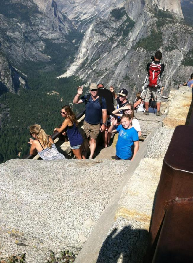 On Top of Yosemite National Park